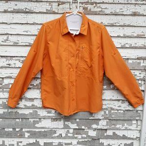 Royal robbins button up shirt.  Size large